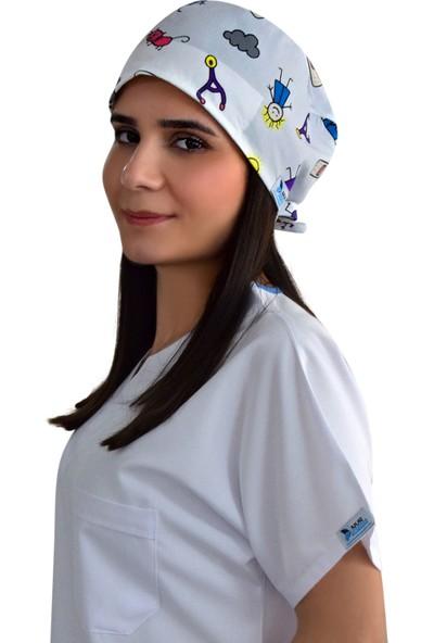Nur Ortopedi Yarabandı Temalı Cerrahi Doktor Hemşire Hastane Bonesi