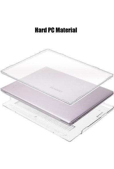 "Arabulalaca Huawei Matebook x Pro 14"" 2020 Koruma Kılıfı Şeffaf Kristal"