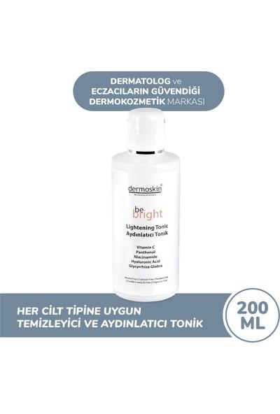 Dermoskin Be Bright Cilt Beyazlatıcı Leke Giderici Aydınlatıcı Tonik 200 ml