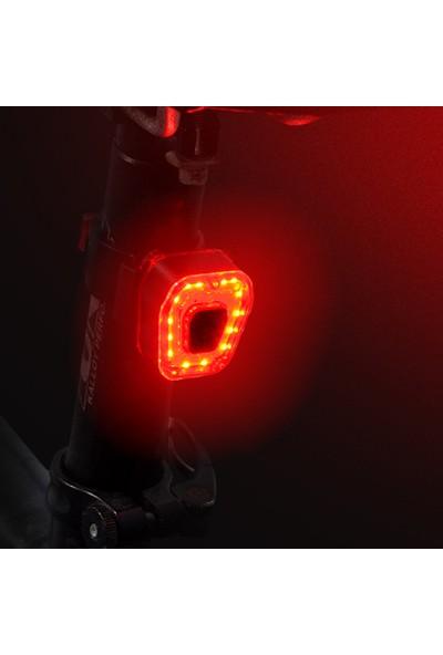 Buyfun Bisiklet Arka Lambası USB Şarj Mtb Yol Su (Yurt Dışından)
