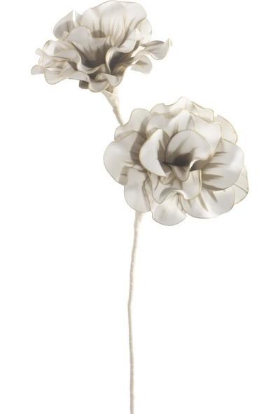 Nettenevime Yapay Çiçek Latex Çiçek Köpük Çiçek Siyam Gülü Latte