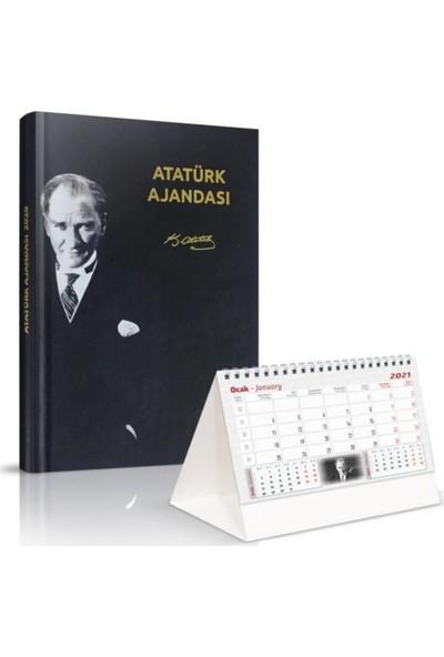 Jasmin2020 2021 Atatürk Yıllık Atatürk Ajandası Atatürk Piramit Masa Takvimi
