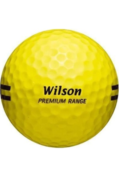 Wilson Wp 116 Premium Range Golf Topu Sarı Renk
