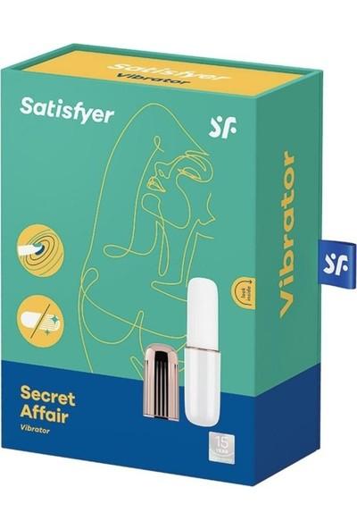 Satisfyer Secret Affair Mini Ruj +Mini G Spot Vibratör