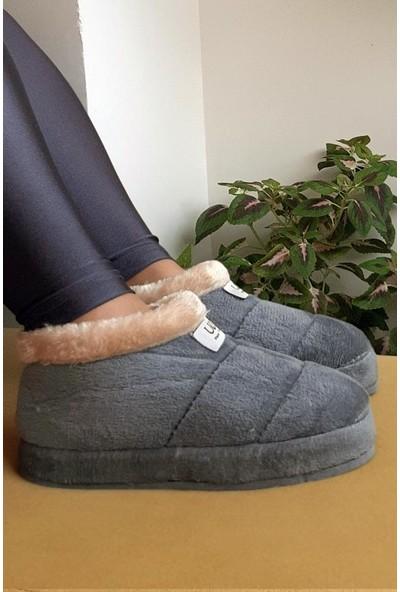 Modafrato EVA-UC02 Kadın Panduf Ev Ayakkabısı Ev Botu