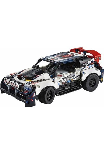 LEGO Technic Top Gear Rally Car 42109 Uygulama Kontrollü Yarış Arabası Kiti (463 Parça)