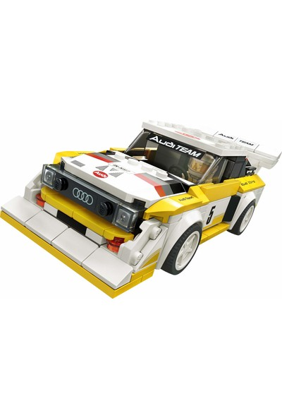 LEGO Speed Champions 1985 Audi Sport Quattro S1 76897 Oyuncak Araba Yapı Kiti (250 Parça)