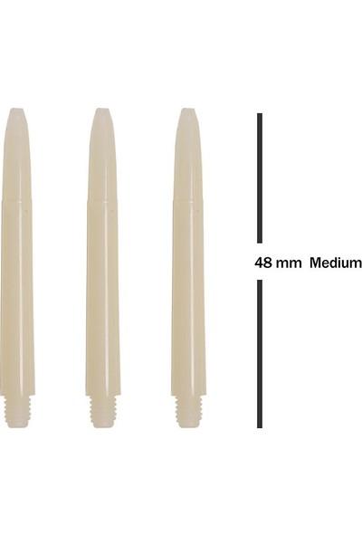 Bora Dart Shaft Beyaz Medium 1 Set