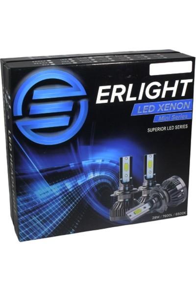 Eroğlu Erlight H4 Mini LED Xenon Yeni Nesil Şimşek Etkili Beyaz LED Far