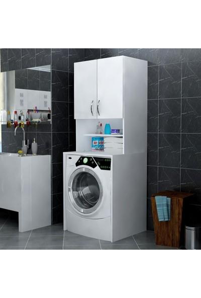 Woodesign Banyo Dolabı Çamaşır Makinesi Dolabı