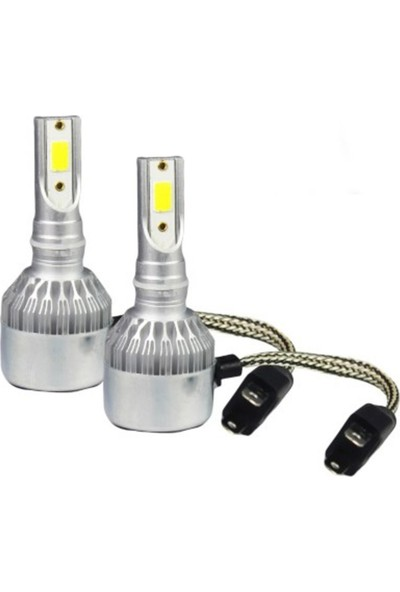 Eroğlu H4 LED Xenon Far Ampul Beyaz Şimşek Etkili 6000K 4400L - Hunter