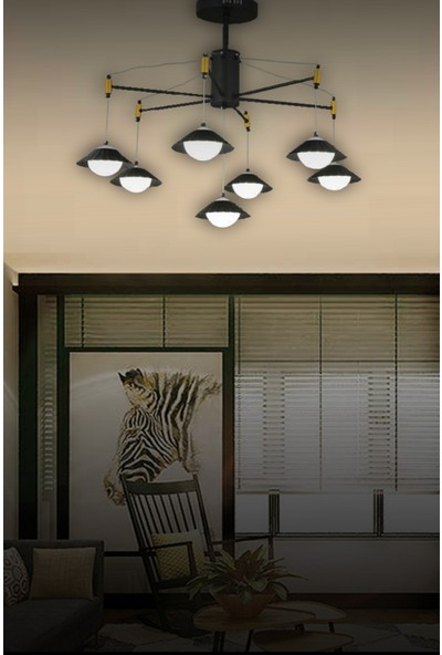 Luna Lighting Luxury 7li LED Modern Avize