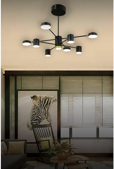 Luna Lighting Luxury 9lu Kollu Sarkıt LED Modern Avize