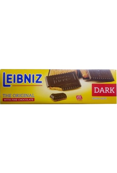 Leibniz Dark Bitter Çikolata Kaplı Bisküvi 125 gr