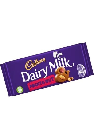 Cadbury Dairy Milk Fruit & Nut 110 gr