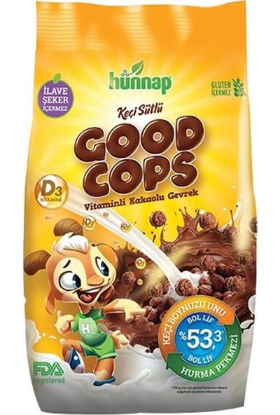 Hünnap Good Cops Keçi Sütlü Vitaminli Kakaolu Gevrek 300 gr