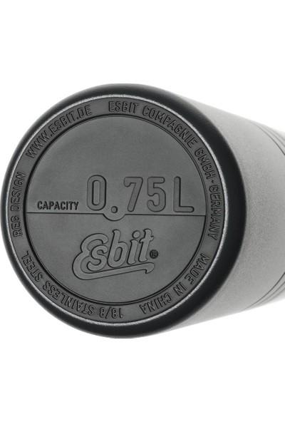 Esbit Majoris Paslanmaz Çelik Vakumlu Termos Siyah 0,75L