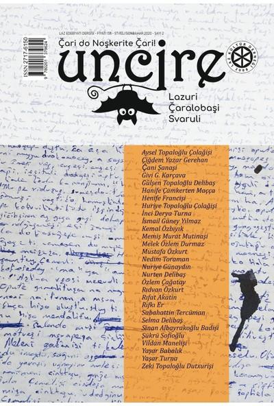 Uncire Dergisi 2. Sayı