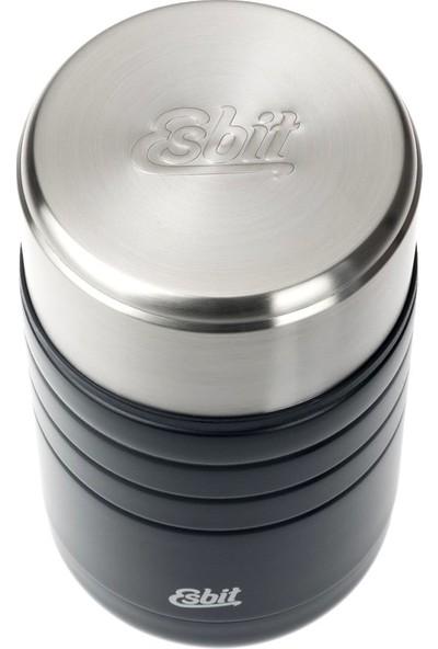 Esbit Paslanmaz Çelik Yemek Termosu Siyah 0,60L