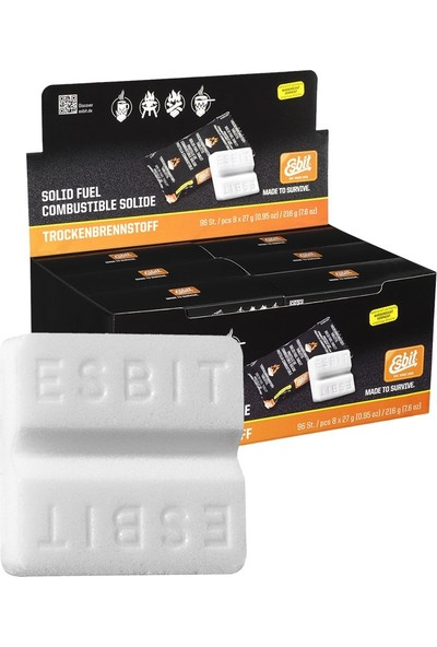 Esbit 8x27g Katı Yakıt Tableti