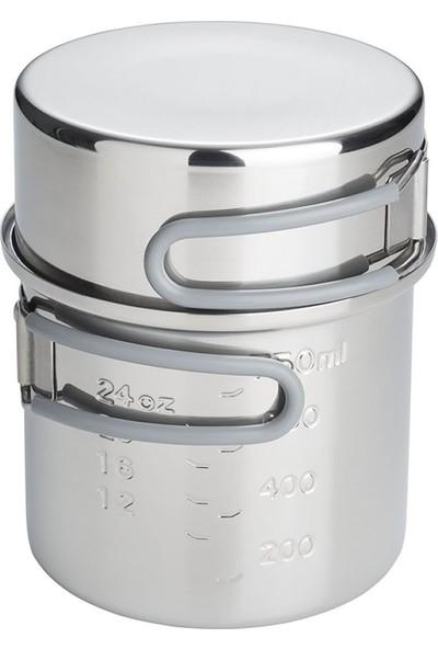 Esbit Paslanmaz Çelik Tencere 1L