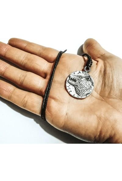 Spdesgns Jewelry Ulu Bozkurt Erkek Kolyesi Gümüş Renk