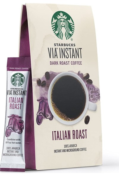 Starbucks Via Ready Brew Italian Roast