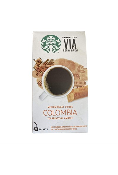 Starbucks Via Ready Brew Colombia