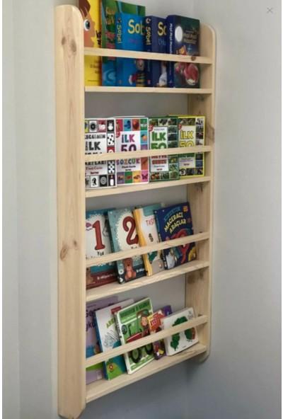 Masal Dünyası Özel Yapım Montessori Kitaplık