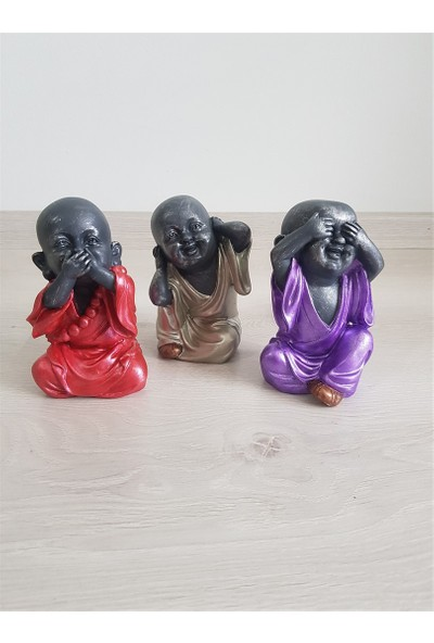 Oturan Buddha Bebekler 3