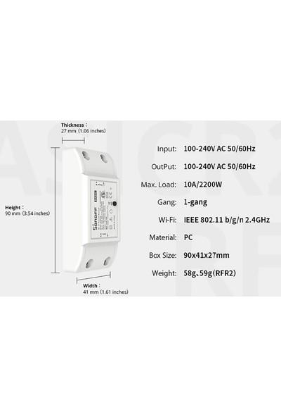 Sonoff R2 Basic Wifi Switch Akıllı Ev Sistemleri Için Wifi Anahtarı