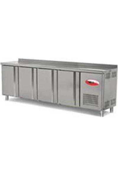 Empero EMP.255.60.01 4 Kapılı Tezgah Tipi Buzdolabı - 255X60X85