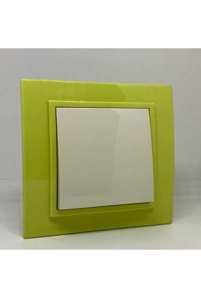 Elbi Zena Anahtar Çerçeveli Yeşil Renkli