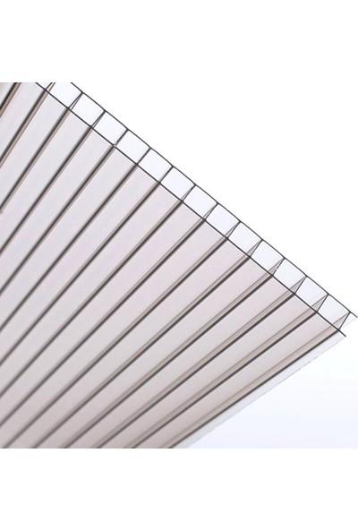 Gardenplast Kapı Üstü Pratik Sundurma 100X240 cm - Şeffaf