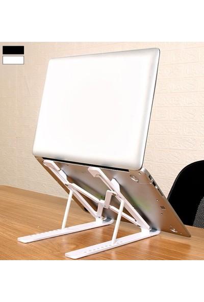 Saywin Portatif Ayarlanabilir Dizüstü Bilgisayar Standı Beyaz Renkli