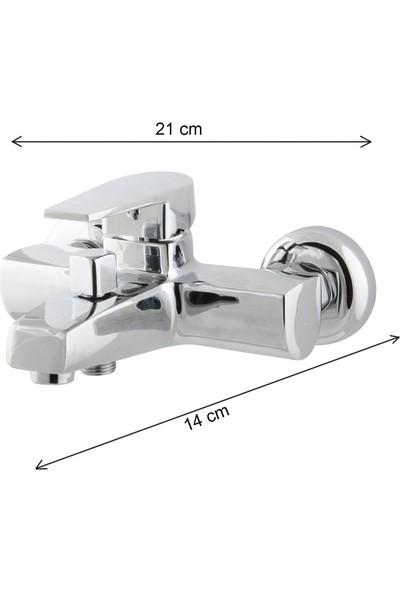 Kupp Banyo Bataryası Mix , Su Tasarruflu Duş Musluğu ELE7020