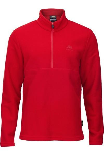 Alpinist Jimm Erkek Outdoor Polar Kırmızı
