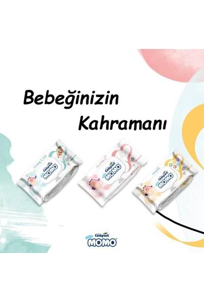 Ultra Compact Islak Mendil Havlu Momo Yenidoğan Keçi Sütlü 2 x 60 Yaprak + Multivitaminli 2 x 100 Yaprak KAPAKLI(320YAPRAK)