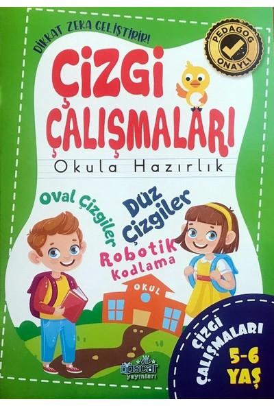 Harika Çocuk Yayınları 4+ Yaş Çizgi Çalışması ve Etkinlik Seti 5 Kitap