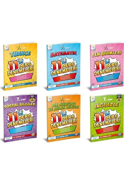 Koza Karaca Yayınları 7. Sınıf LGS Hazırlık 11'li Ders Denemeleri Seti