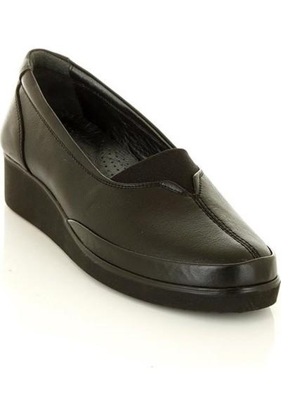 Marine Shoes 195 Siyah Kadın Günlük Ayakkabı
