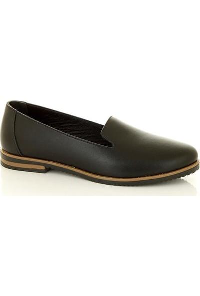 Marine Shoes 2044 Siyah Kadın Günlük Ayakkabı