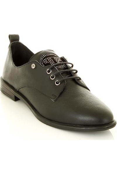 Marine Shoes 2047 Siyah Kadın Günlük Ayakkabı