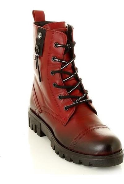 Marine Shoes 60 Kırmızı Kadın Bot