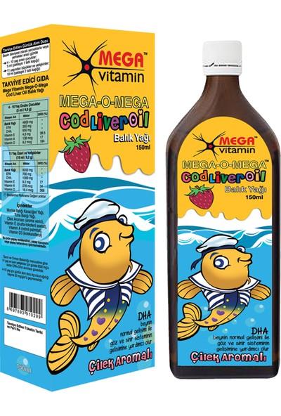 Mega Vitamin - Mega-O-Mega Saf Sıvı Balık Yağı - 150ml