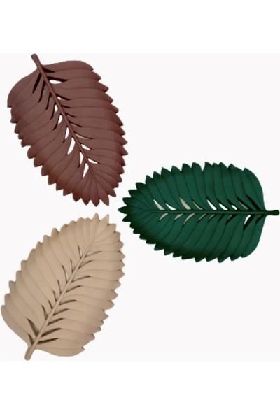 Orenc Craft Dekoratif Yaprak Tabak