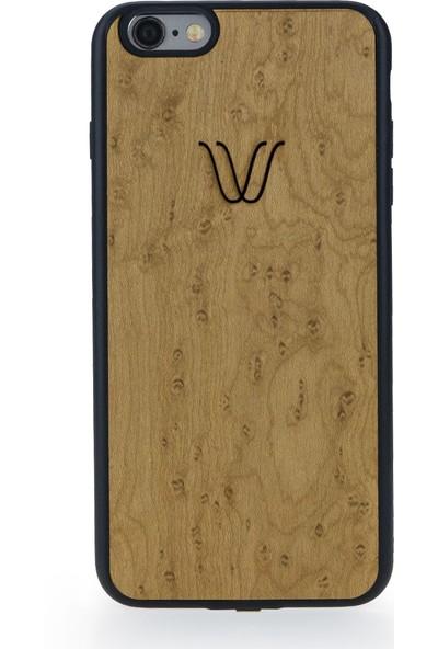 Woodie Milano Erable Wood Apple iPhone 7 Kablosuz Şarj Alıcı Kılıf