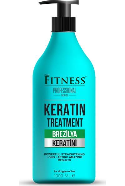 Fitness Professional Saç Düzleştirici Keratin Bakımı Brezilya Fönü 1000 ml