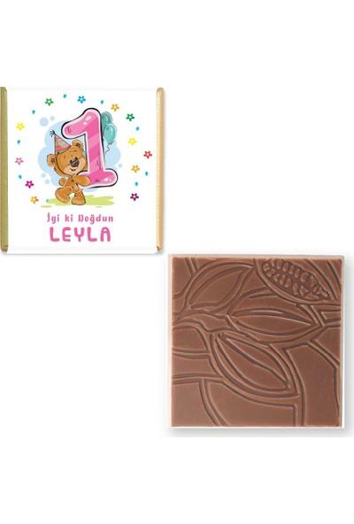 Valonia Dila Çikolata Doğum Günü Çikolatası (150 Madlen)