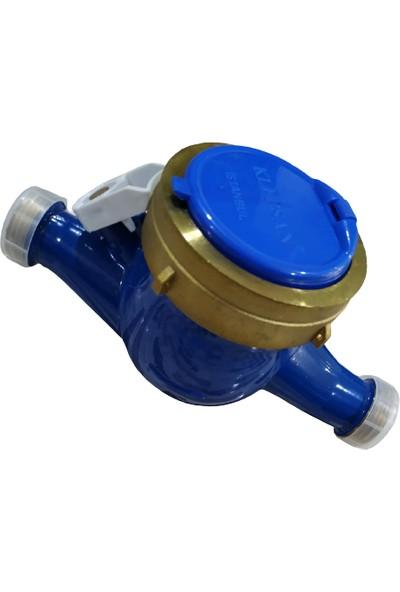 Klepsan Su Sayacı Yeni Model Su Sayacı DN20 - 3/4 - Rekorsuz Kvs-1k